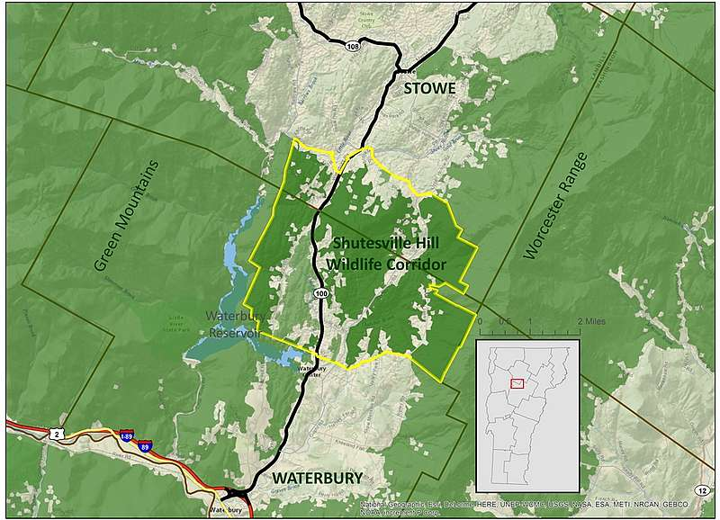Putting the Shutesville Hill Wildlife Corridor on the Map: Stowe ...