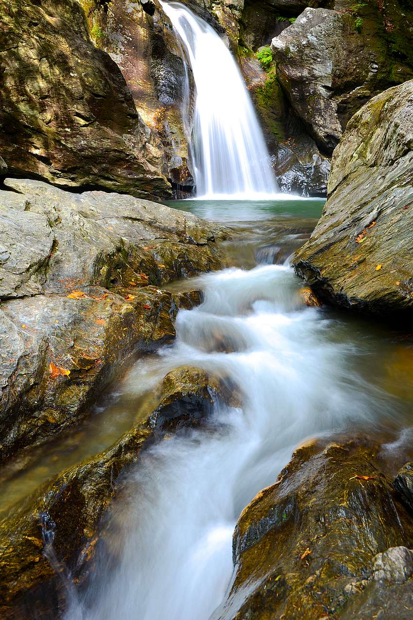bingham falls  stowe land trust